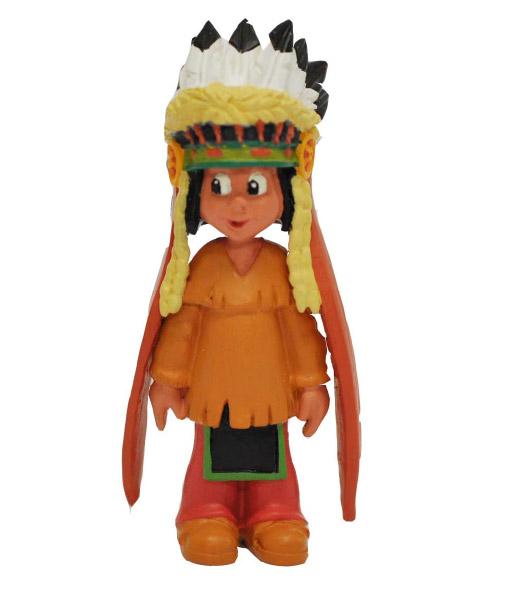 Yakari Figure Yakari With Headdress 6 cm