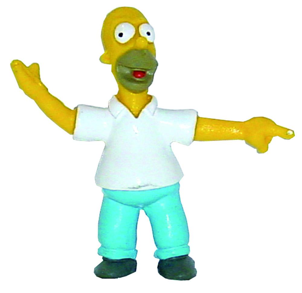 Simpsons Mini Figure Homer 6 cm