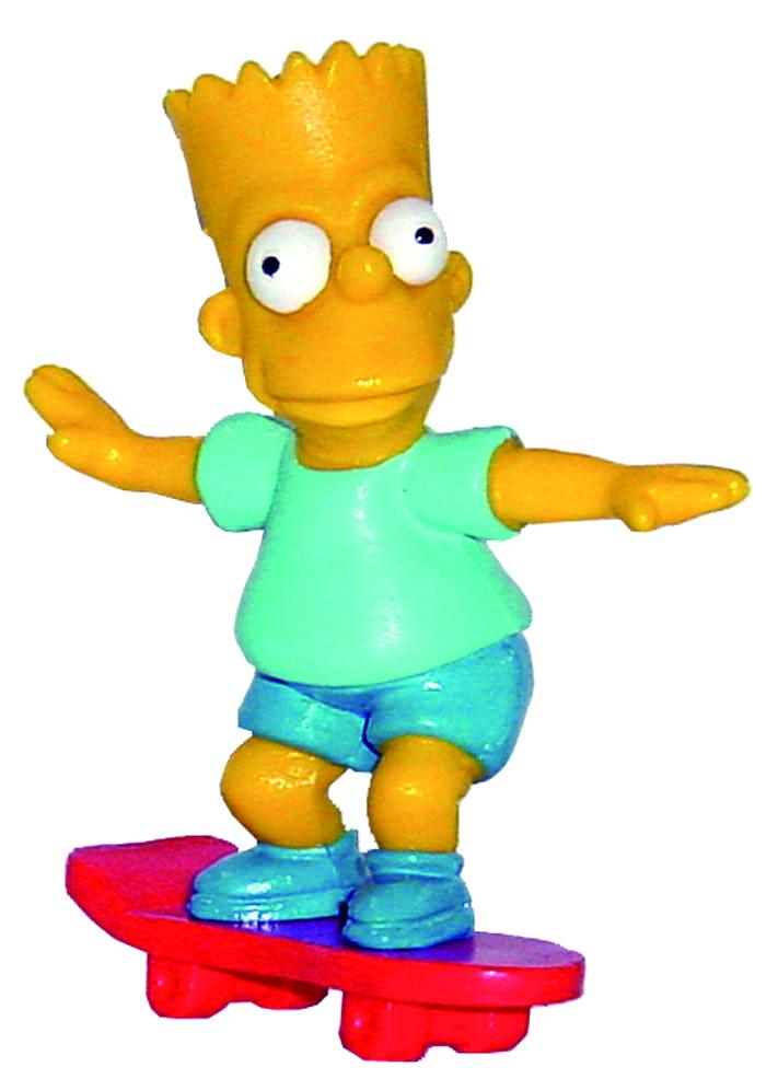 Simpsons Mini Figure Bart 6 cm