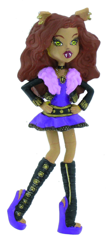 Monster High Mini Figure Clawdeen Wolf 10 cm