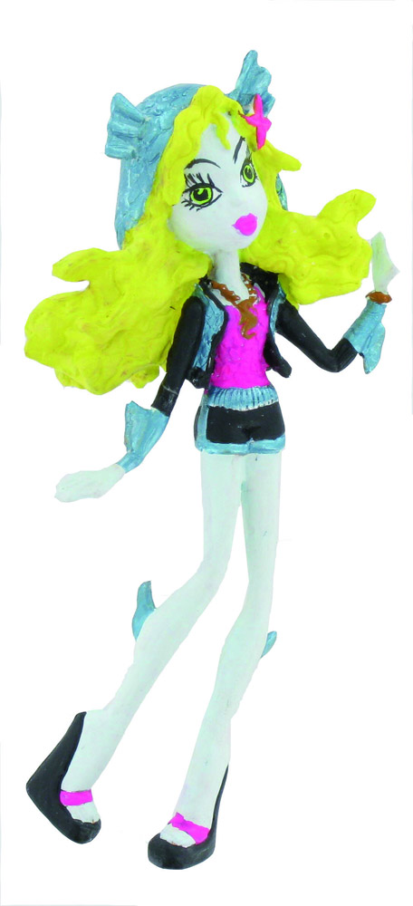 Monster High Mini Figure Lagonna Blue 10 cm