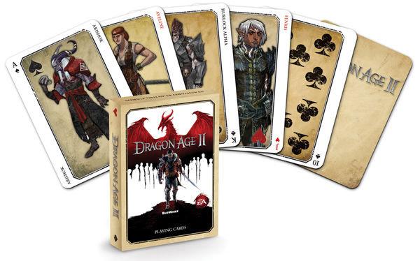 Dragon Age II Playing Cards