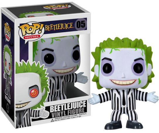 Beetlejuice POP! Vinyl Figure Beetlejuice 10 cm