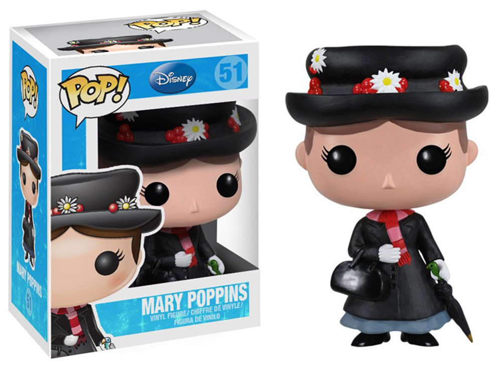 Mary Poppins POP! Vinyl Figure Mary Poppins 10 cm