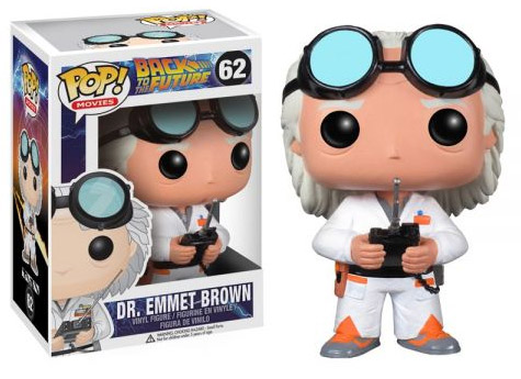 Back to the Future POP! Vinyl Figure Doc Brown 10 cm
