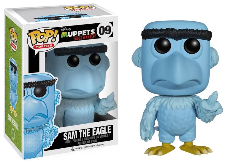 Muppets Most Wanted POP! Vinyl Figure Sam Eagle 10 cm