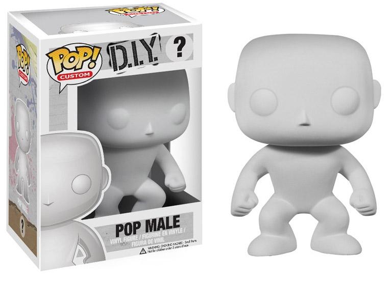 Pop Custom POP! Vinyl Figure Blank Male 10 cm