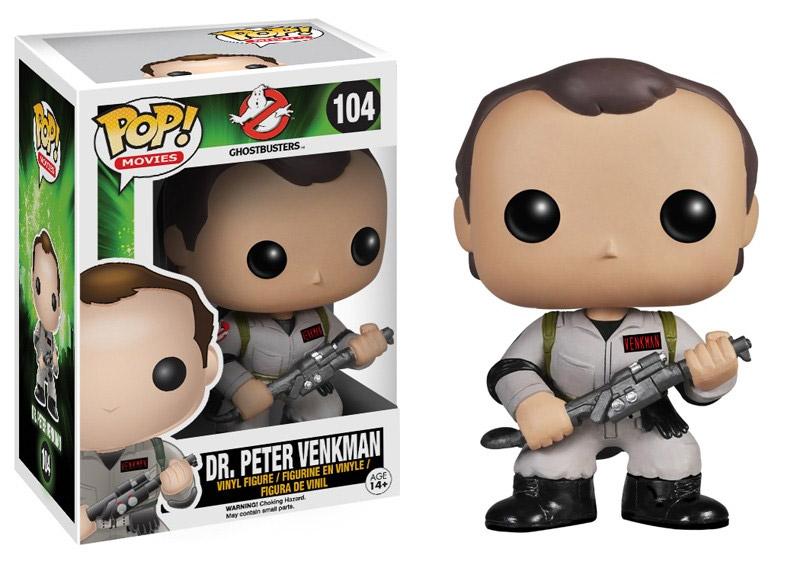 Ghostbusters POP! Vinyl Figure Dr. Peter Venkman 10 cm