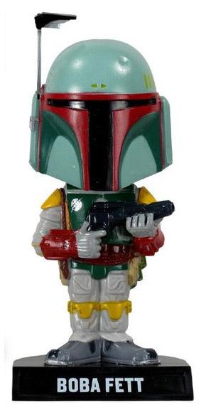 Star Wars Wacky Wobbler Bobble-Head Boba Fett 18 cm --- DAMAGED PACKAGING