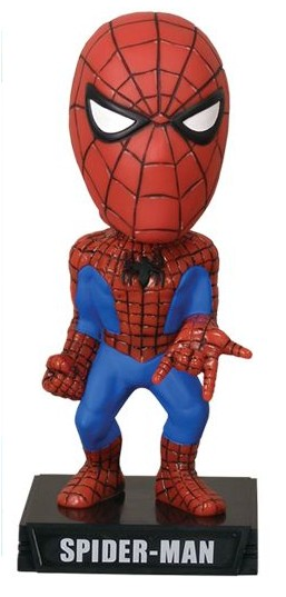Marvel Comics Wacky Wobbler Bobble-Head Spider-Man 18 cm
