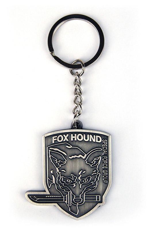 Metal Gear Rising Metal Keychain Fox Hound