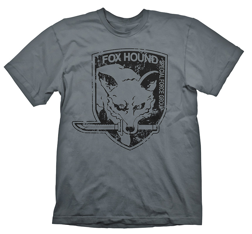 Metal Gear Solid T-Shirt Foxhound Size XL