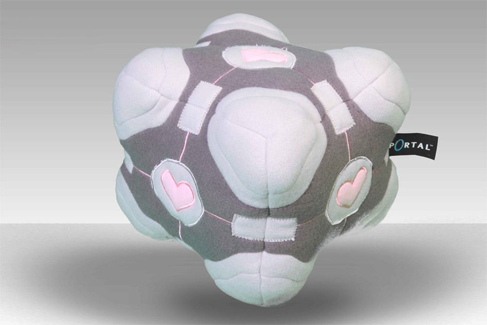 Portal 2 Plush Figure Companion Cube