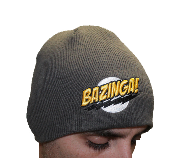 The Big Bang Theory Beanie Grey Bazinga