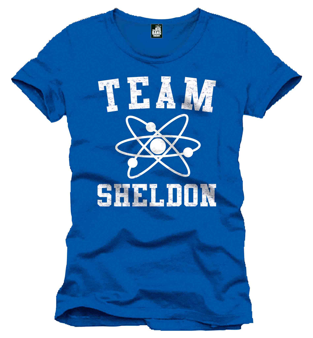 The Big Bang Theory T-Shirt Team Sheldon Size L