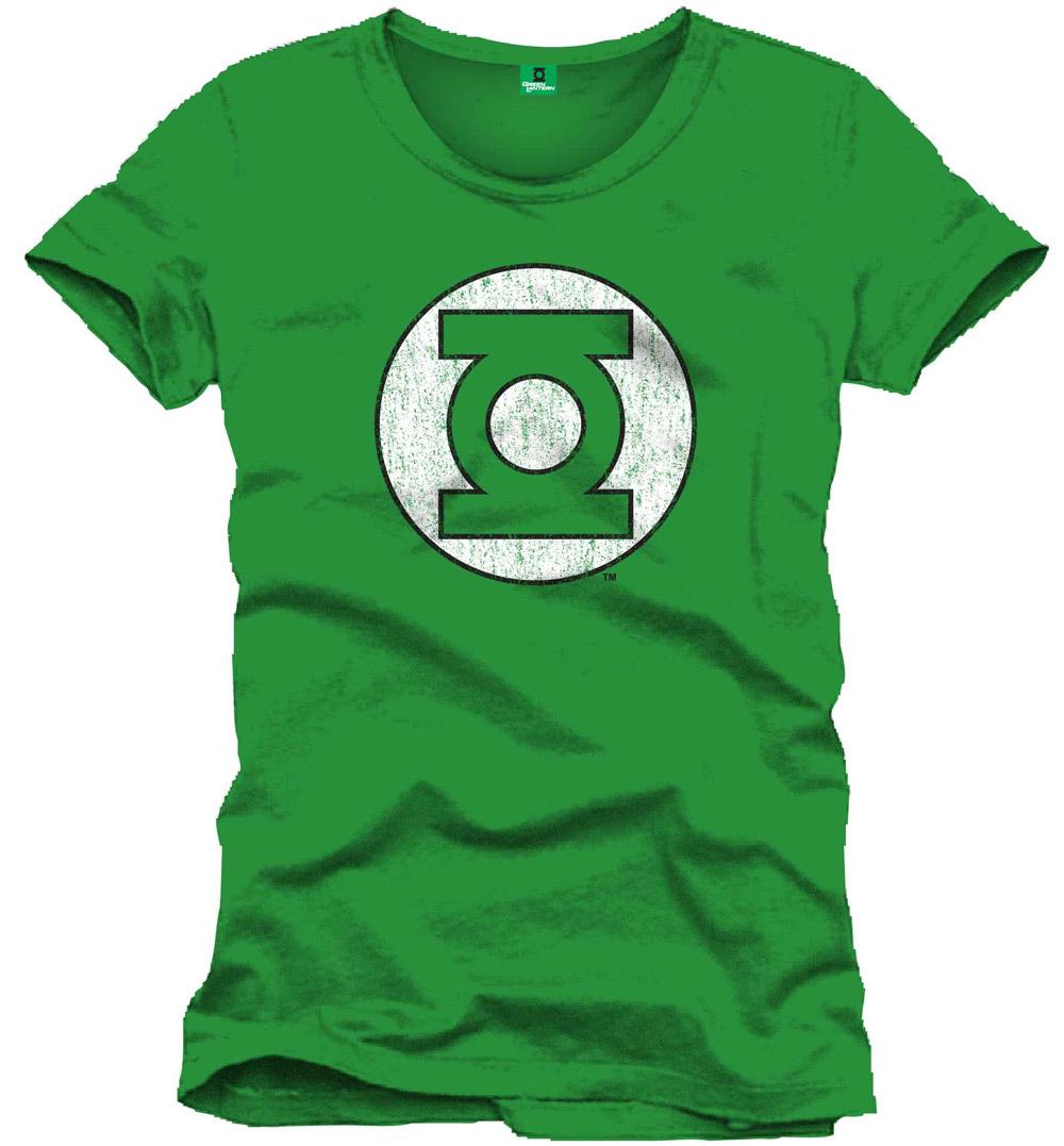 Green Lantern T-Shirt Logo green Size L