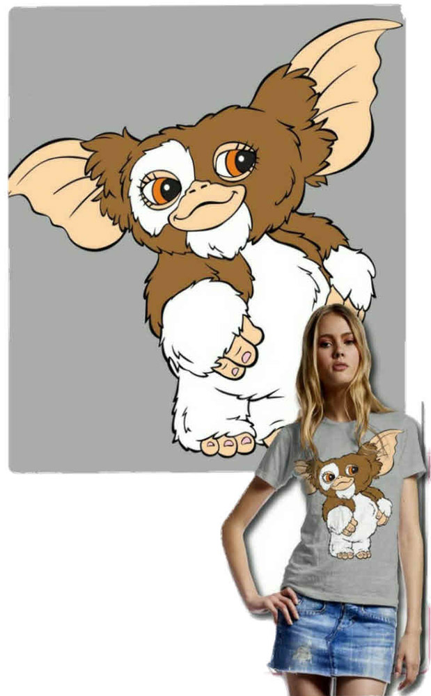Gremlins Ladies T-Shirt Mogwai Size XL