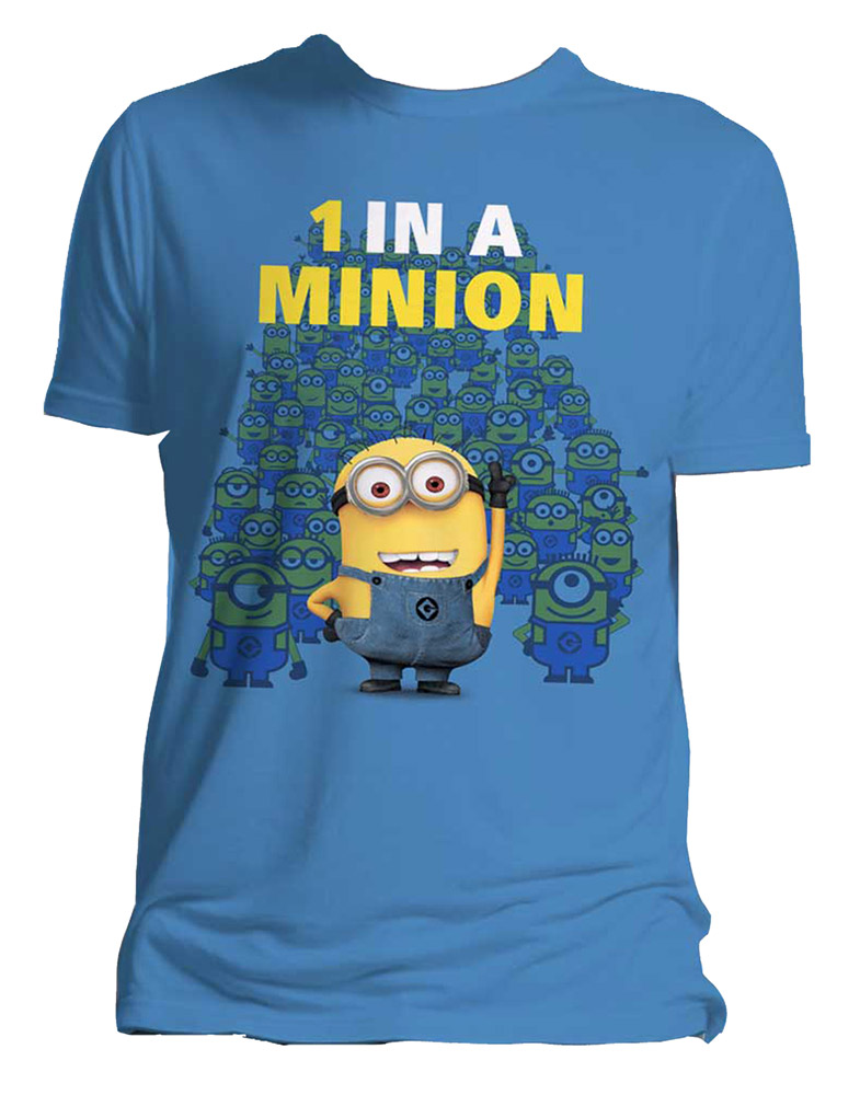 Despicable Me 2 T-Shirt One In A Minion Size XL
