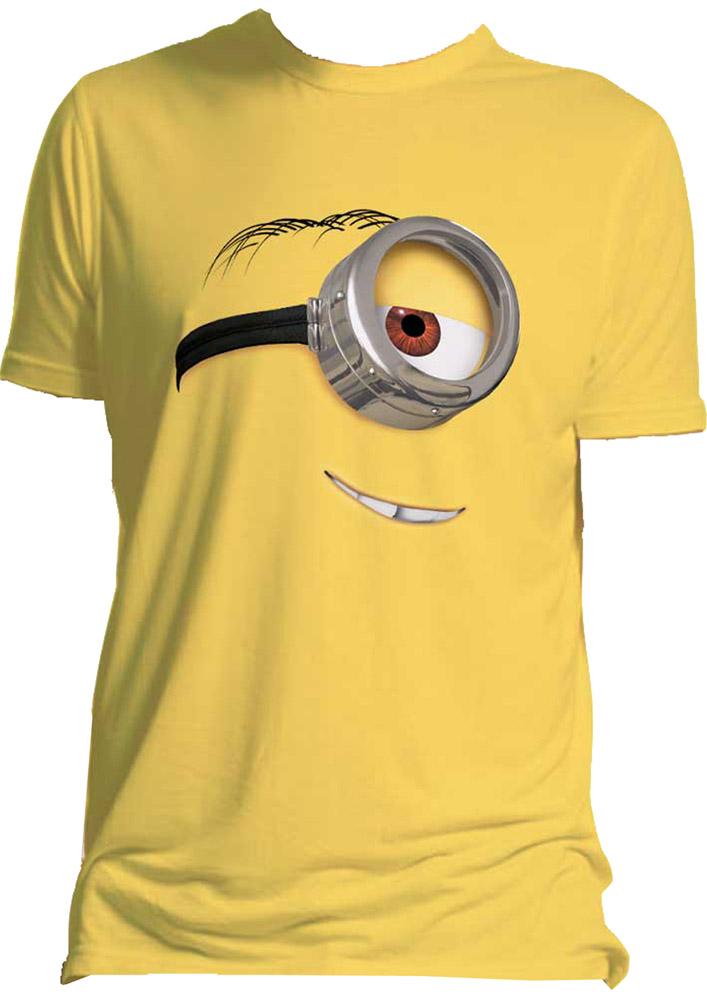 Despicable Me 2 T-Shirt Stuart Size L