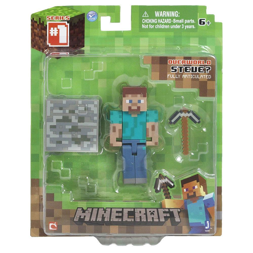 Minecraft Action Figure Steve 8 cm