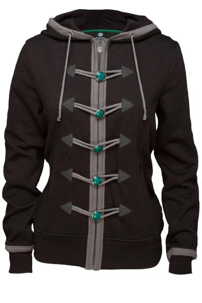 World Of Warcraft Premium Ladies Hooded Sweater Monk Size S