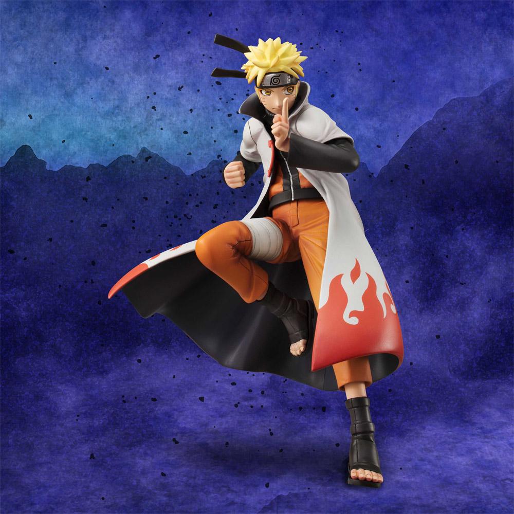 Naruto Shippuden G.E.M. Series statuette PVC 1/8 Naruto 20 cm
