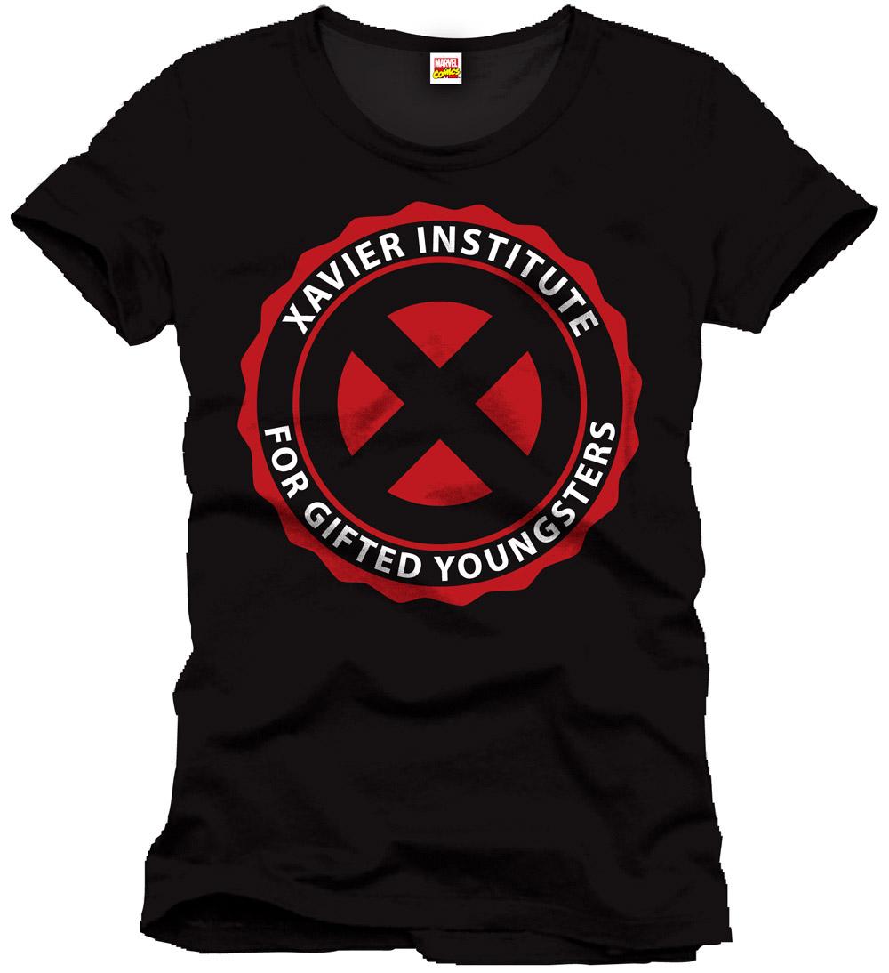 X-Men T-Shirt Xavier Institute Size M
