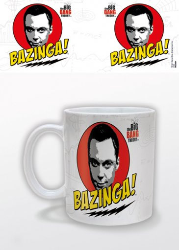 The Big Bang Theory Mug Bazinga