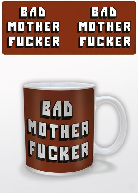 Bad Mother Fucker Mug Logo