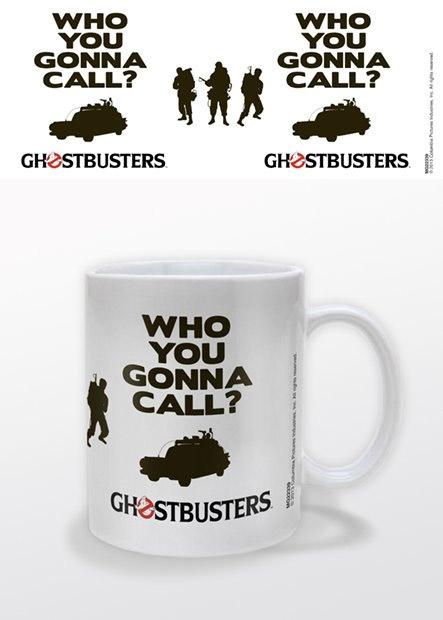 Ghostbusters Mug Who You Gonna Call