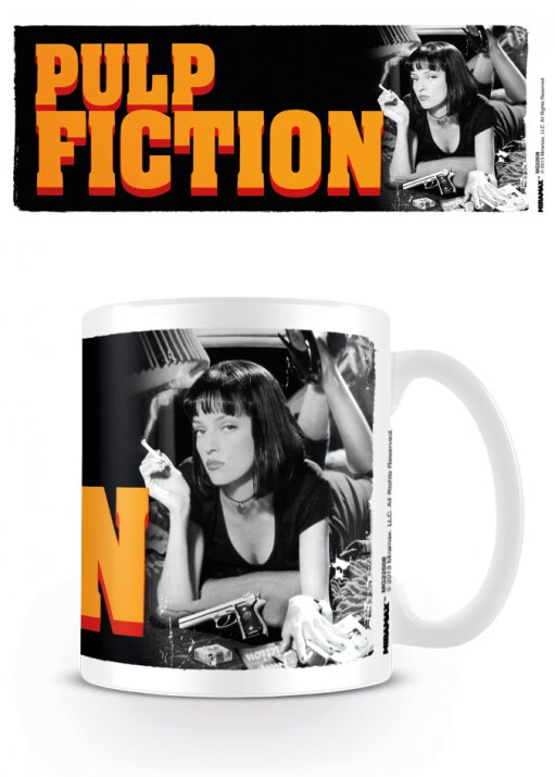 Pulp Fiction Mug Mia