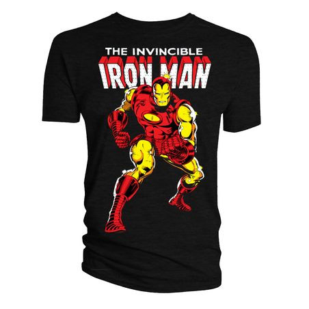 Marvel T-Shirt Iron Man Issue 126 Classic Cover Size S
