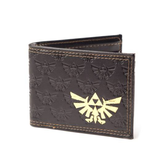 The Legend of Zelda Wallet Gold Foil Logo