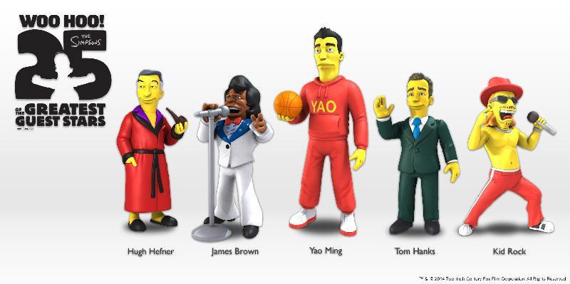 Simpsons 25th Anniversary Action Figures 13 cm Series 1 Assortment (20)