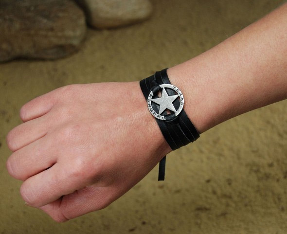 The Lone Ranger Wrap Cuff Bracelet Texas Ranger