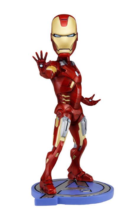 The Avengers Head Knocker Bobble-Head Iron Man 18 cm