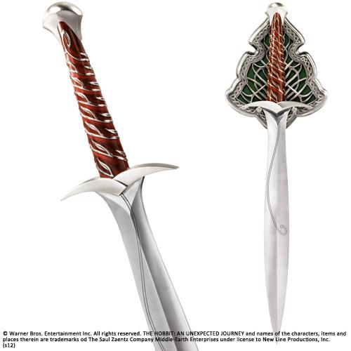 The Hobbit Replica 1/1 The Sting Sword of Bilbo Baggins 56 cm