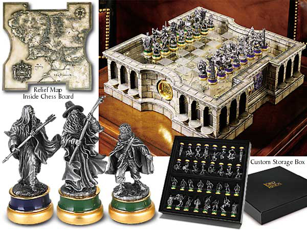 Lord of the Rings Collector´s Chess Set