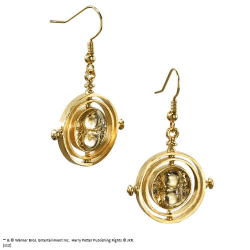 Harry Potter Replica 1/1 Hermione Granger´s The Time Turner Earrings (gold plated)