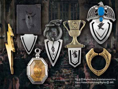 Harry Potter Bookmarks 7er Set The Horcrux Collection