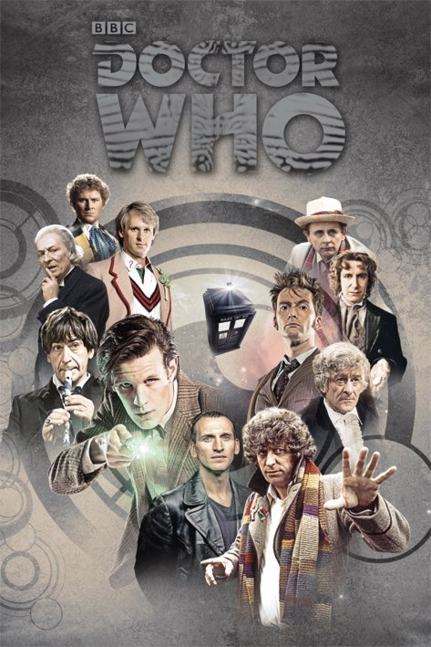 Doctor Who Poster Pack Enemies 61 x 91 cm (5)