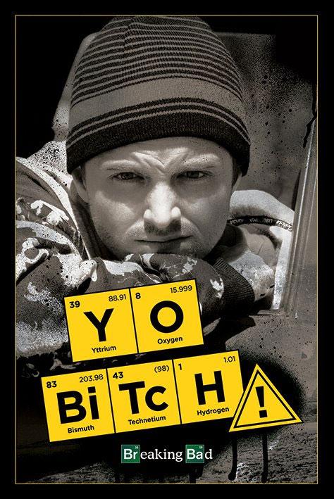Breaking Bad Poster Pack Yo Bitch! 61 x 91 cm (5)
