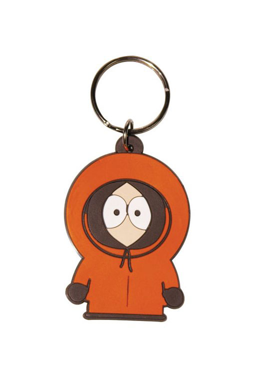 South Park Rubber Keychain Kenny 6 cm