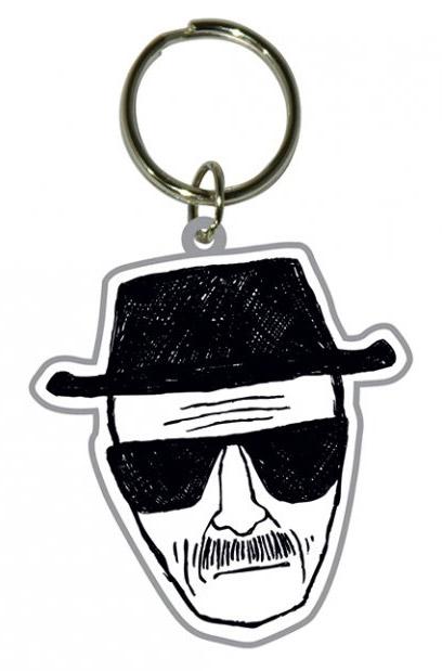 Breaking Bad Rubber Keychain Heisenberg 6 cm