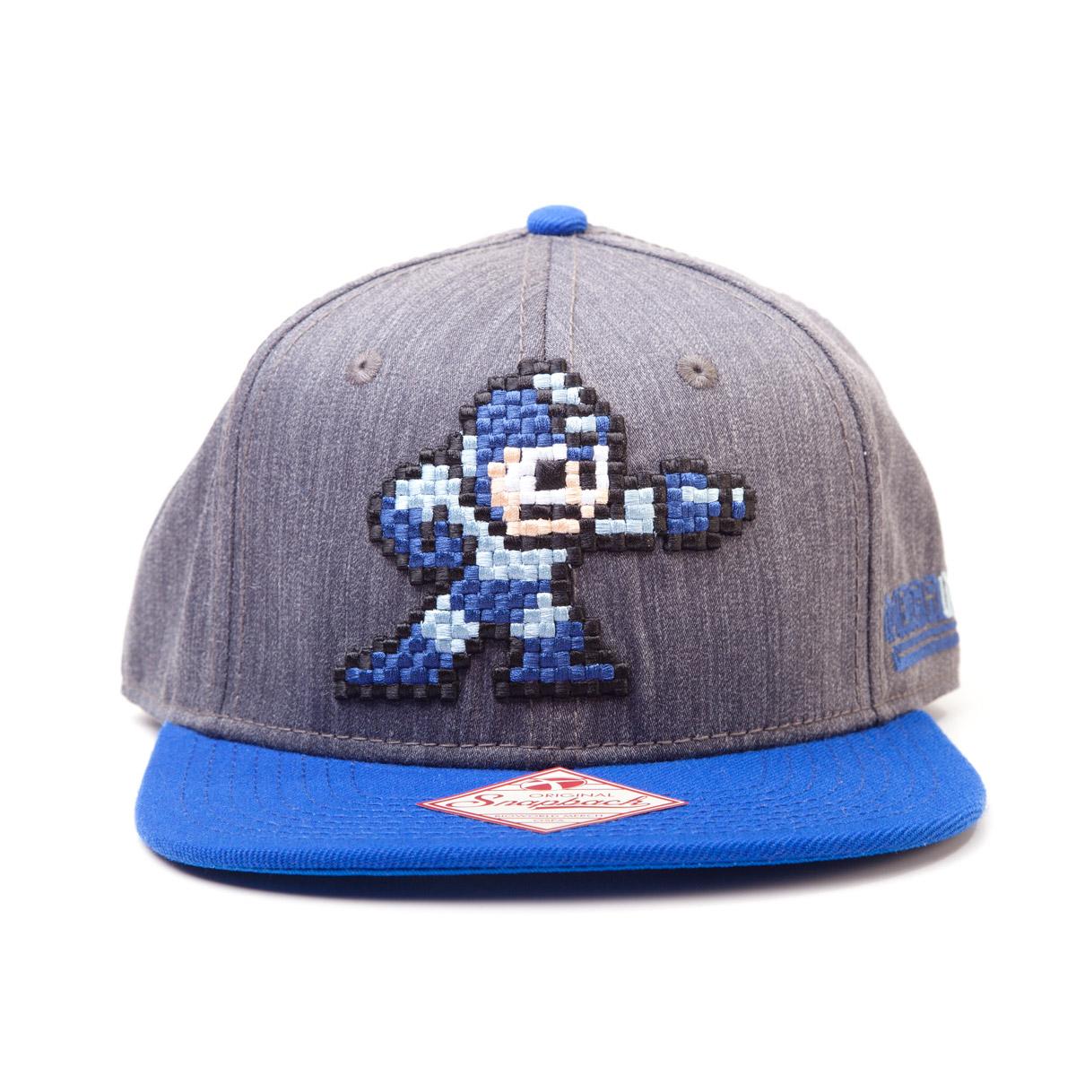MegaMan Snap Back Baseball Cap MegaMan