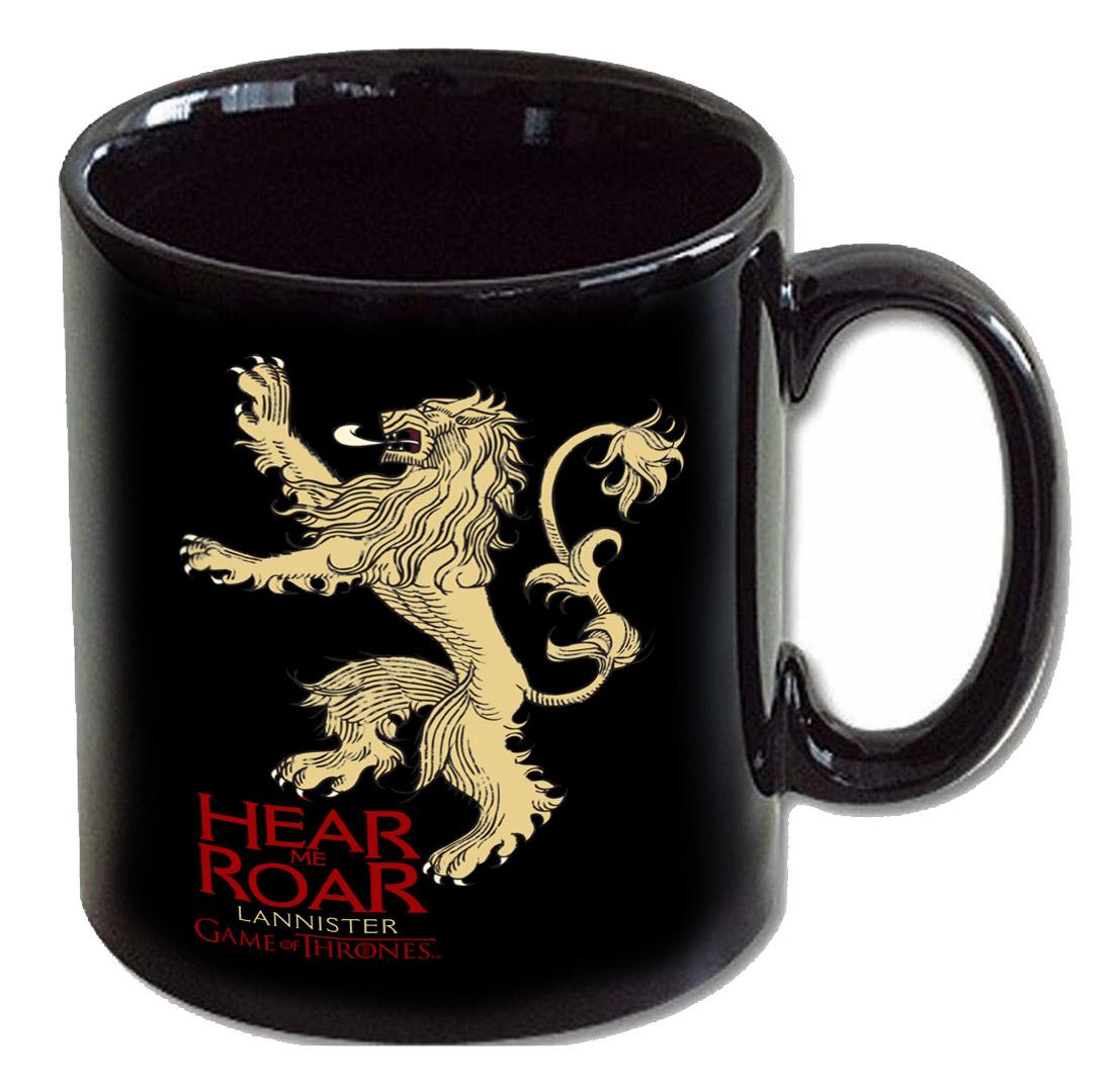 Game of Thrones Mug Lannister black