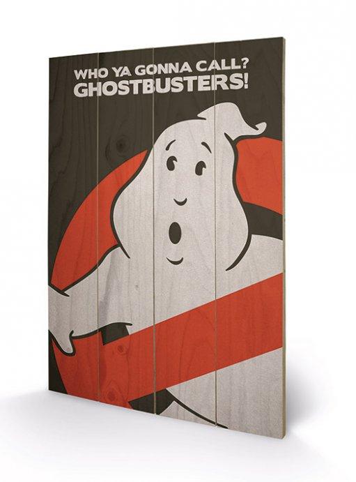 Ghostbusters Wooden Wall Art Logo 40 x 60 cm