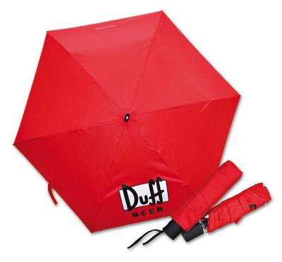 Duff Beer Umbrella Logo