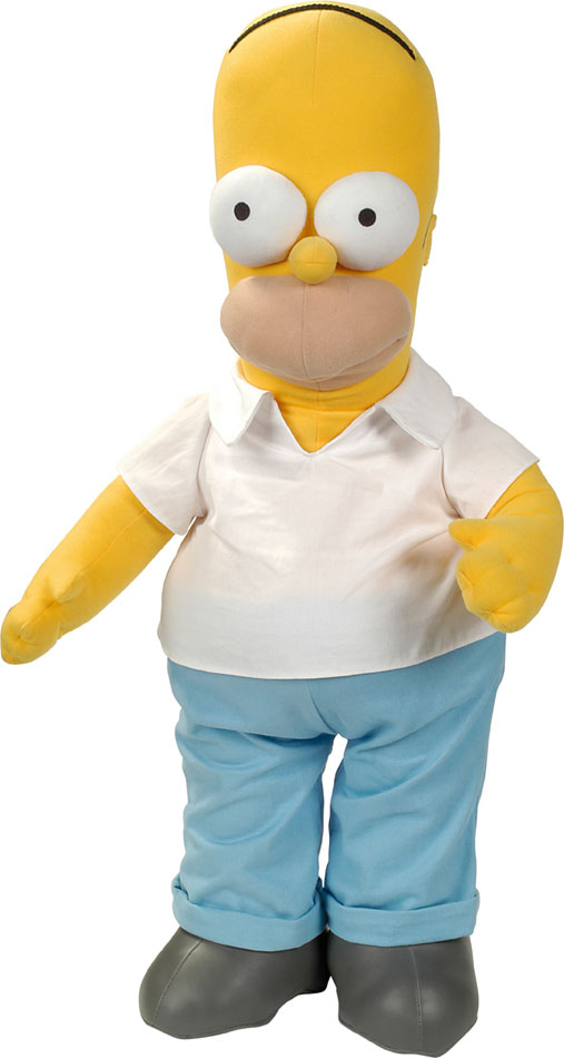 Simpsons Plush Figure Homer 28 cm