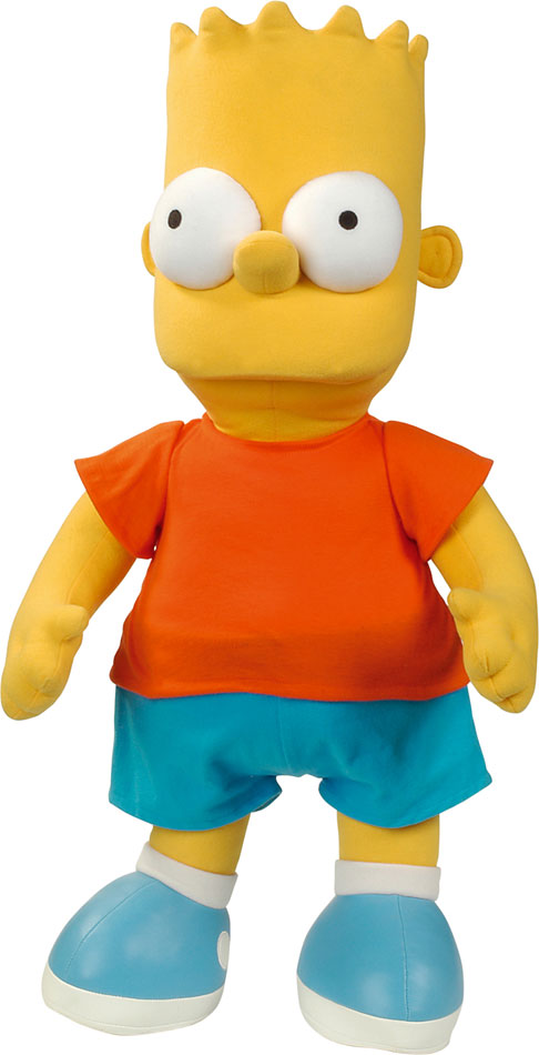Simpsons Plush Figure Bart 26 cm